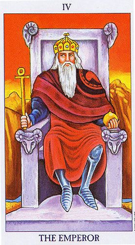 The Emperor - Radiant Rider-Waite Tarot