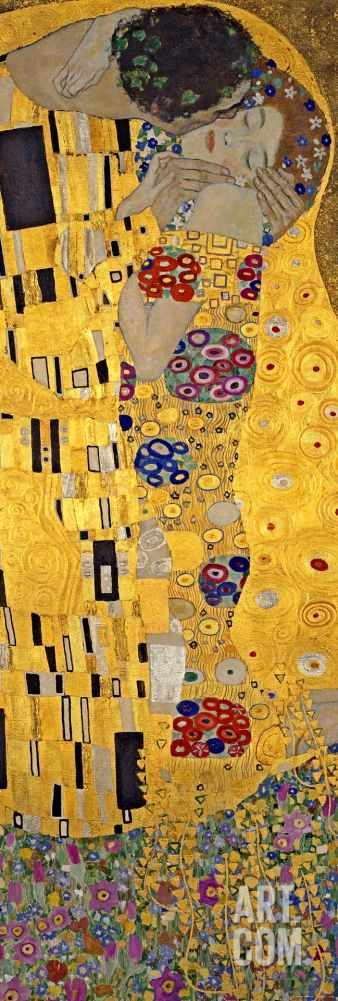 The Kiss, c.1907 (detail), by Gustav Klimt