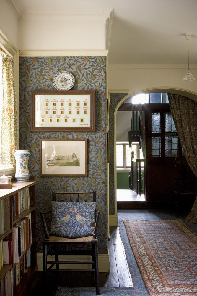 The Pomegranate Passage at Wightwick. William Morris and his Arts and Crafts contemporaries.