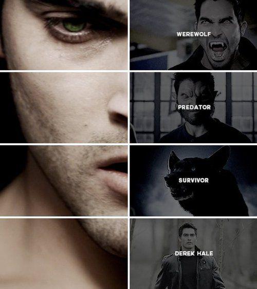 Teen Wolf    Derek Hale