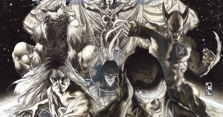Más artes de Simone Bianchi en Astonishing X-Men