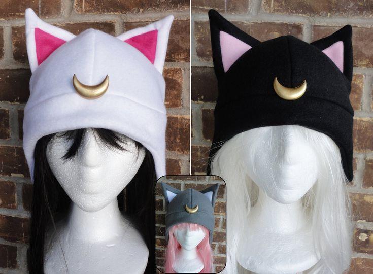 Luna, Artimus, Diana - Sailor Moon Hat. $16.00, via Etsy.