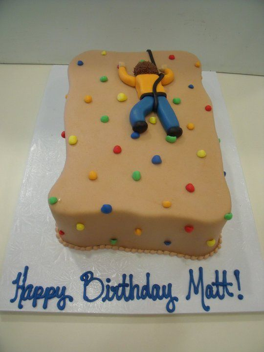 Cake Designs Rock Climbing : 25+ best ideas about Rock Climbing Cake on Pinterest ...