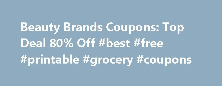 Beauty Brands Coupons: Top Deal 80% Off #best #free #printable #grocery #coupons http://coupons.remmont.com/beauty-brands-coupons-top-deal-80-off-best-free-printable-grocery-coupons/  #brand coupons printable # You're all set! Beauty Brands Promo Codes, Deals and Printable Coupons Beauty Brands is indeed an all-in-one superstore. Not only can you find beauty products from such brands as Redken, Paul Mitchell, Matrix and American Crew hair products, select locations sell skin care and makeup…