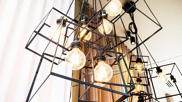 Neale loved the cluster of pendants lights, saying they were high-end.
