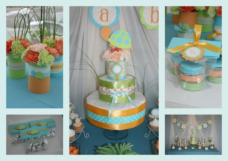 turtle baby shower baby shower themes themed baby showers shower ideas