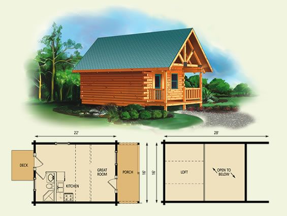 Small Log Cabin Kit Homes Small Log Cabin Floor Plans: Maybe One Day When We Get Land We Can Build Cabins. I