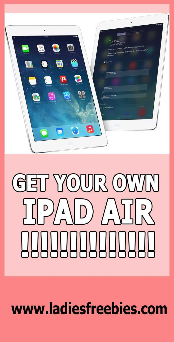 Jesus! That's what I have been waiting for! iPad air for free!