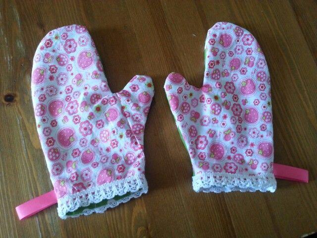 Ovenwanten naaien voor meisje