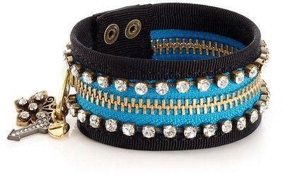 zipper cuffCuffs Bracelets, Zippers Bracelets, Juicy Couture, Jewelry Bracelets, Zippers Cuffs, Design Jewelry, Cuff Bracelets, Zippers Jewelry, Designer Jewelry