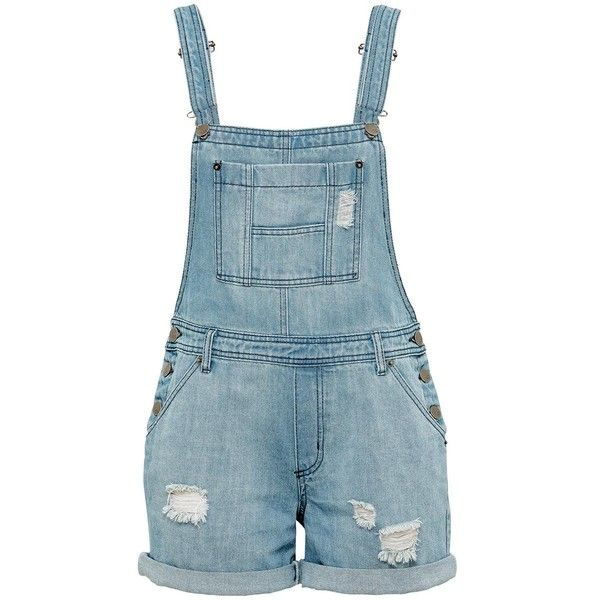 market dungarees (1.135 UYU) ❤ liked on Polyvore featuring jumpsuits, rompers, shorts, overalls, bottoms, dresses, denim overalls, denim bib overalls, bib overalls and blue denim overalls