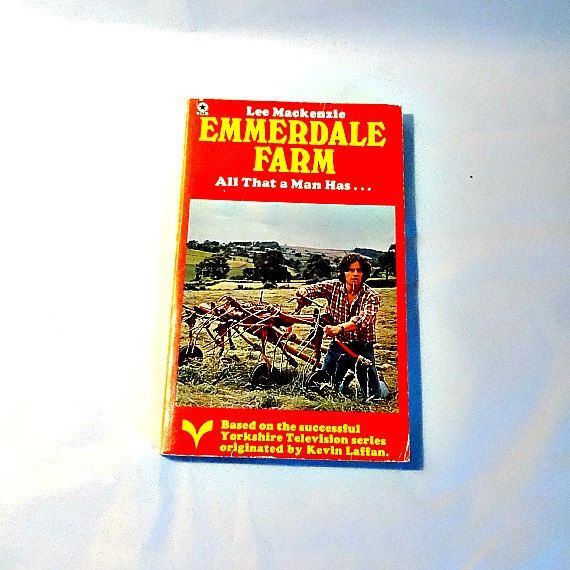 Emmerdale Farm Novel, Book 3, English Soap Opera, Yorkshire Television, Rural Britain, Village Life, Yorkshire Dales, British Countryside