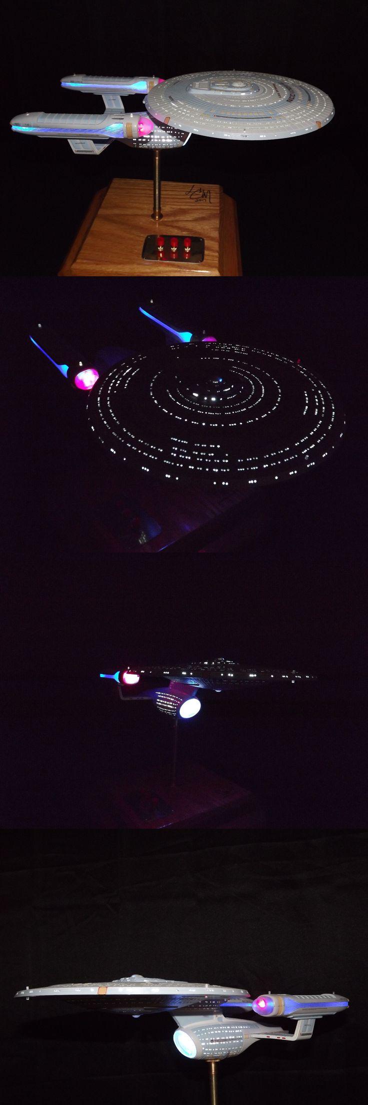 Star Trek 49211: Star Trek Enterprise C Amt Model Ledlit Pro Built Collectible -> BUY IT NOW ONLY: $875 on eBay!