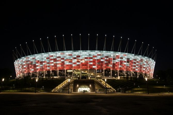 The National Stadium of Poland, Narodowy Stadion is one of the greatest places in the country to organize Business Meetings