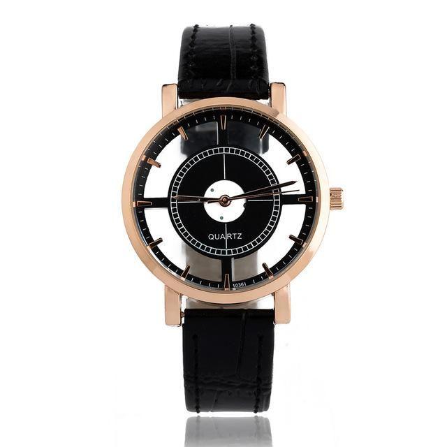 BGG brand Hollow women's Luxury Creative watch womens casual Watches leather ladies dress Quartz Wristwatch female clock hours...A