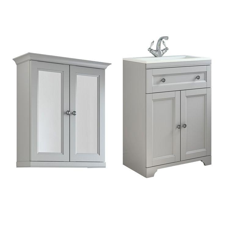 Bathroom Vanity Units B Q: Best 20+ Grey Vanity Unit Ideas On Pinterest
