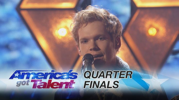 "Chase Goehring: Singer Performs His Original Song ""Illusion"" - America's Got Talent 2017 - YouTube"