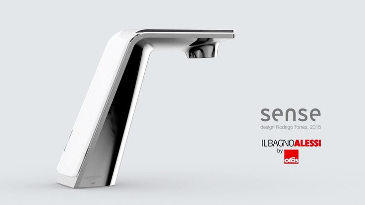 """Smart faucets for """"Il bagno Alessi"""" by Oras and """"La cucina Alessi"""" by Oras, Design by Rodrigo Torres, 2015 """"Sense"""" is a family of smart faucets where beauty has…"""