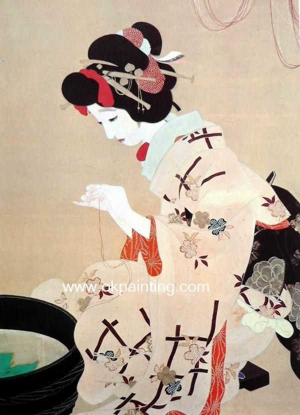Japanese artJapan Art Painting, Japanese Art, Japanese Prints, Art Japan, Beautiful Japan, Japan Painting, Geishas Painting, Oil Painting, Asian Art