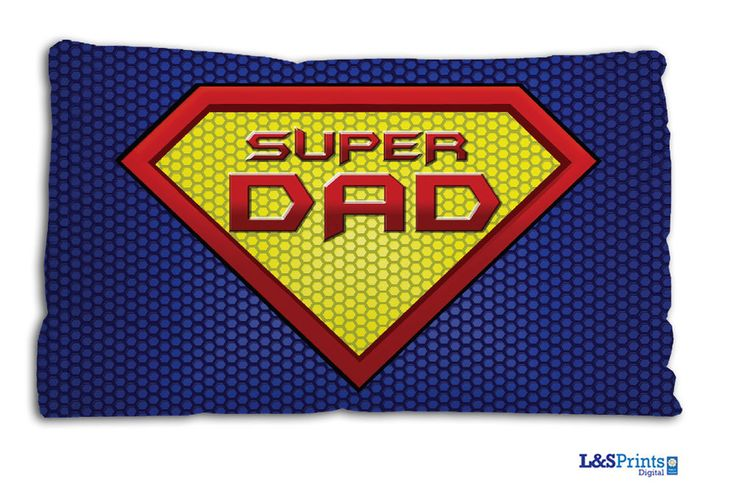 SUPER DAD DESIGN SMALL CUSHION IDEAL FATHERS DAY GIFT CAR TRAVEL ACCESSORY in Home, Furniture & DIY, Home Decor, Cushions | eBay