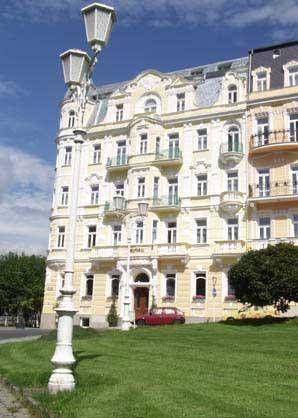 Hotel Belvedere (Nám. J.W. Goetha 16/1) The spa Hotel Belvedere is renowned as one of the most beautiful and prestigious buildings in Marianské Lázně, originally built as a 2-storey spa hotel in 1838 by Dr. Tadeáš Klinger.  Mr. #bestworldhotels #hotel #hotels #travel #cz #marianskelazne