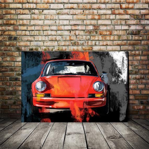 Pin By Chris Lester On Art Porsche Carrera Car Painting Automotive Art