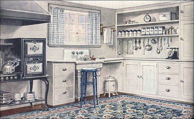 1000 images about 1920 39 s kitchen on pinterest vintage kitchen kitchen stove and breakfast nooks for 1920s interior design trends