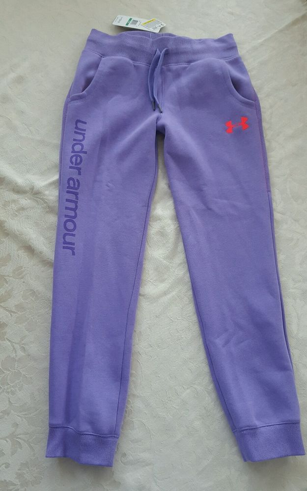 Youth Girls Under Armour Cold Gear Pants Sweatpants size large 14-16 YLG NWT #UnderArmour #AthleticSweatPants