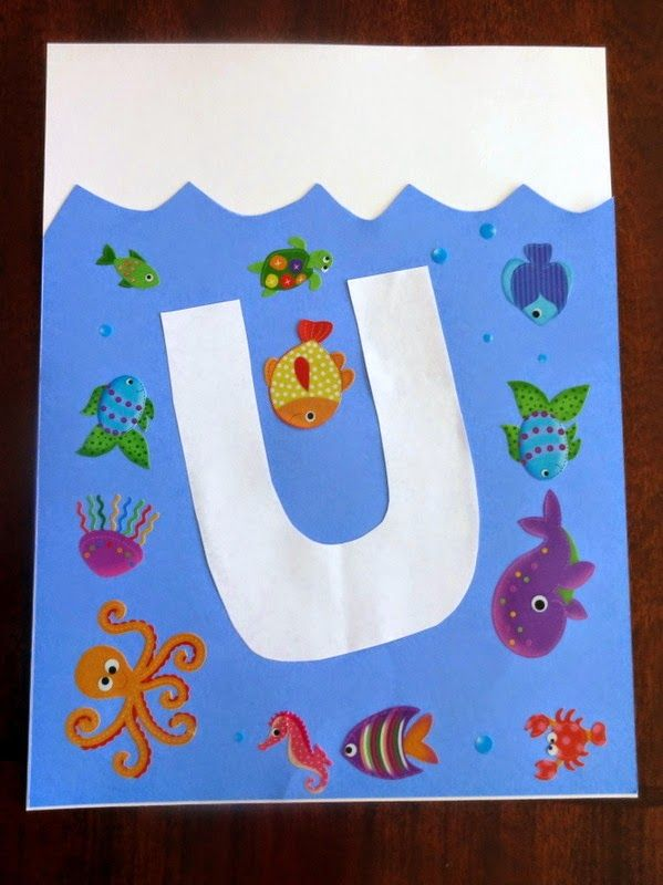 U is for underwater
