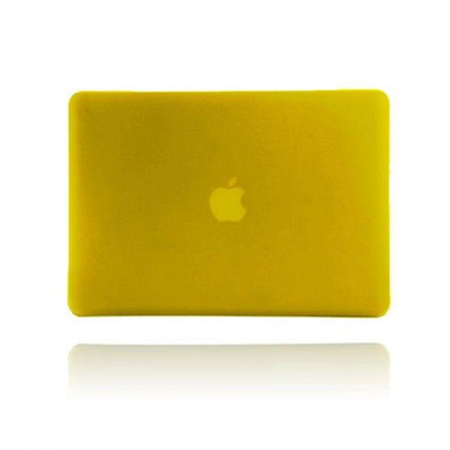 Hard Shell (Keltainen) Macbook Pro 13.3 Suojakuori - http://lux-case.fi/macbook-suojakotelot.html
