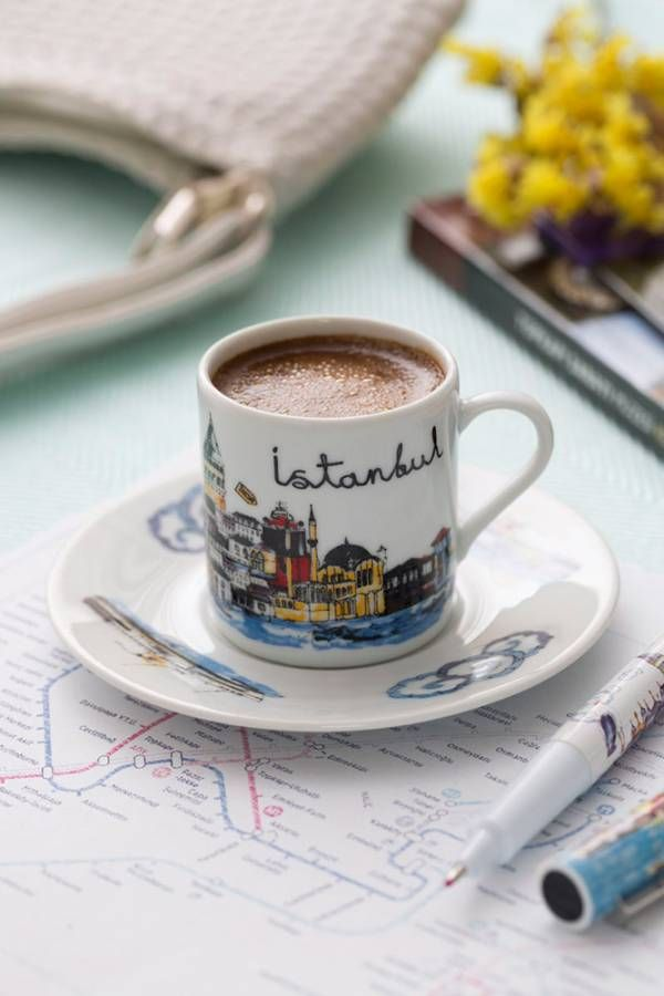 Coffee in Istanbul…(via pinterest)