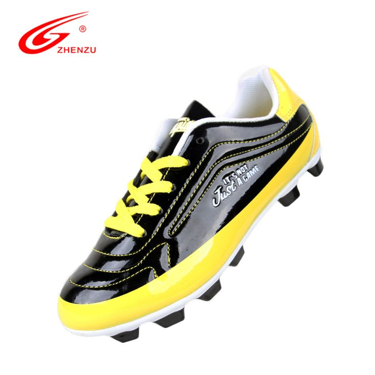 ZHENZU Mirror PU Soccer Cleats Boy Turf Football Soccer Shoes For Kids Children Football Boots Cleats Soccer Boots, Size 30-35 #Affiliate