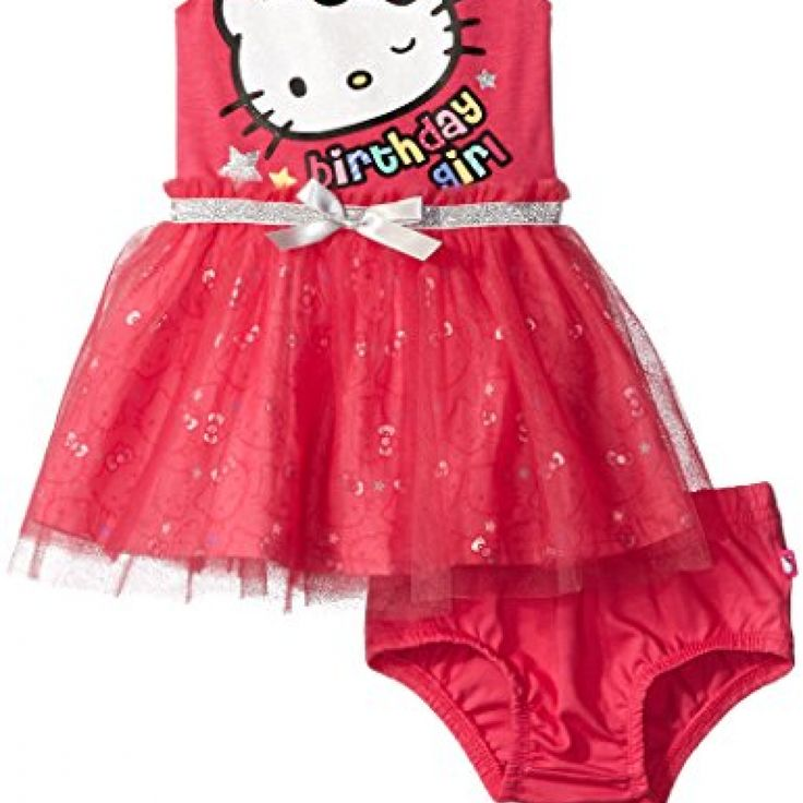 Hello Kitty Baby Girls' Tutu Dress, Fuchsia Purple Baby, 12 Months //Price: $ & FREE Shipping //     #toys World of Hello Kitty https://worldofhellokitty.com/product/hello-kitty-baby-girls-tutu-dress-fuchsia-purple-baby-12-months/