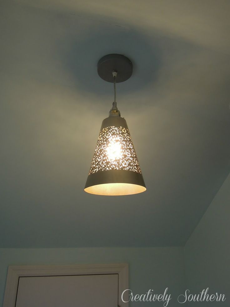 How to Hang a Pendant Light. Ceiling Light DiyCeiling ...