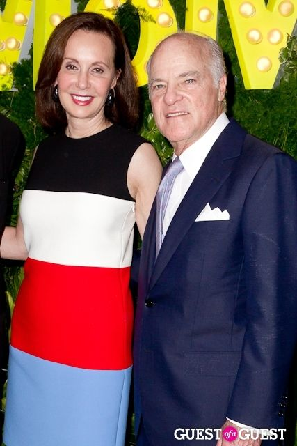 Marie-Josee & Henry Kravis at the MOMA Party In The Garden 2013