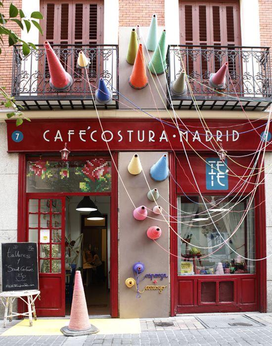 DecorAcción 2013, una bonita iniciativa de arte y dinamización comercial en #Madrid. #art #arte