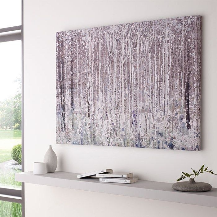 Watercolour Woods Printed Canvas | Graham