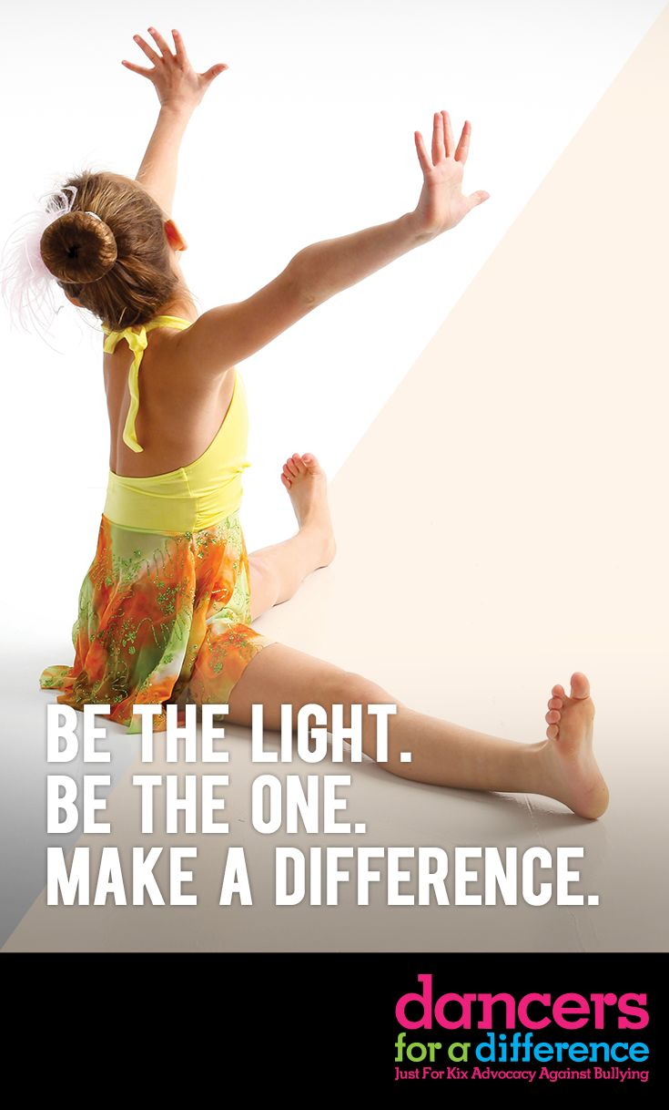 Be the light. Be the one. Make a difference. Learn more at: https://www.justforkix.com/dancersforadifference