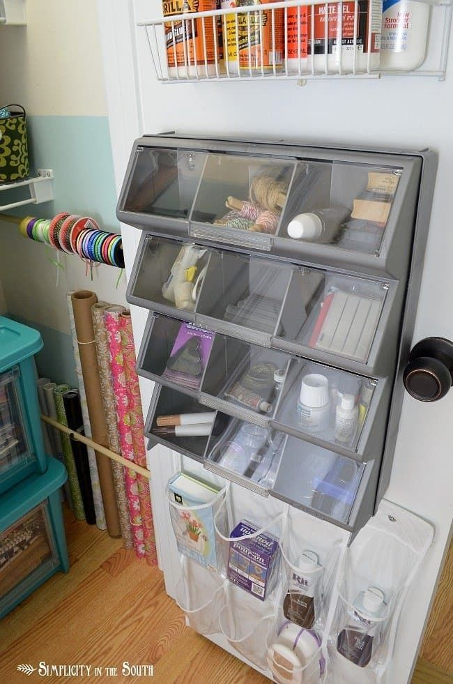 43 best craft storage units images on pinterest for Ideas to organize closets
