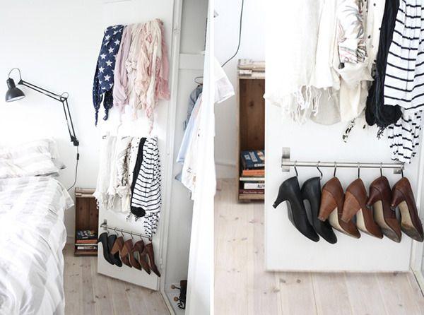 IKEA Hack: An Easy Shoe Storage and Closet Organization Idea » Curbly | DIY Design Community