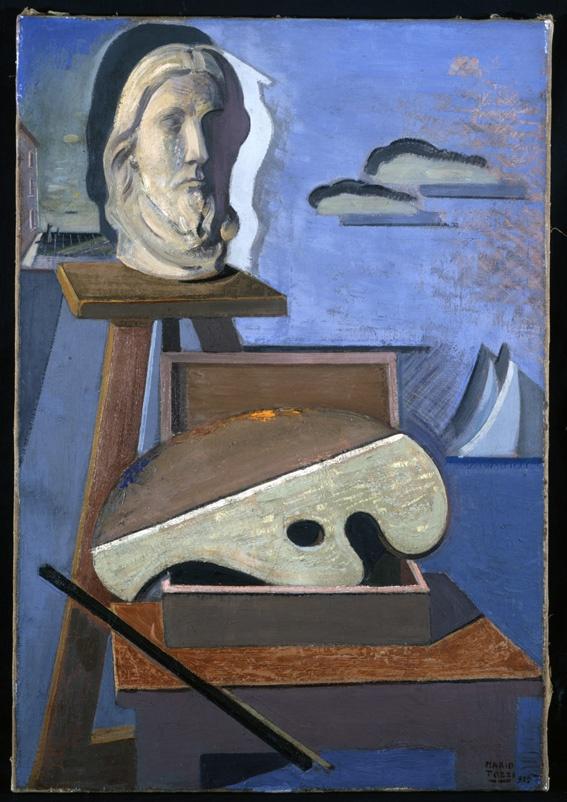 """Mario Tozzi - Neptune Tavolozza e gesso, 1929 """"La Magnifica Ossessione"""" www.mart.tn.it/magnificaossessione"""