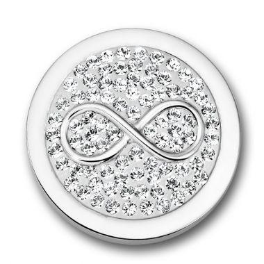 Mi Moneda Infinito Diamond Disc White IND-13-S