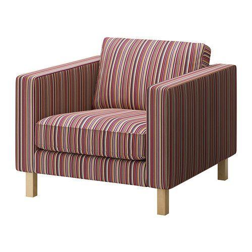 KARLSTAD Lepotuoli IKEA Laaja valikoima yhteensopivia päällisiä helpottaa huonekalujen ilmeen uudistamista.