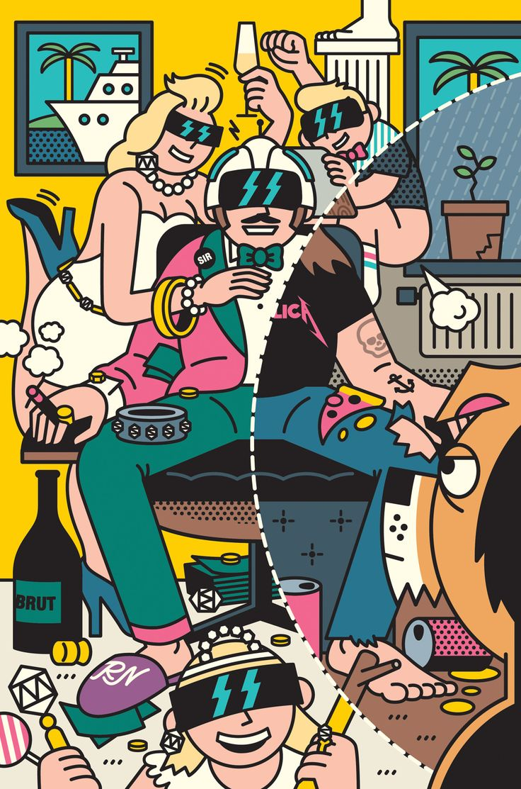 More Rami Niemi this time for T3 magazine and an article on virtual reality.