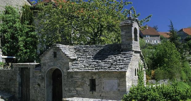Chapelle vigneronne de Château-Chalon