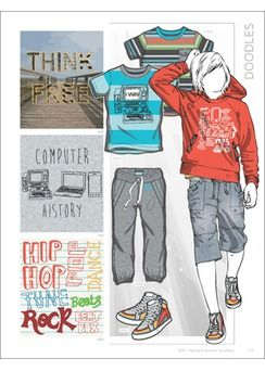 Style Right Kidswear Trend Book - S/S 2015