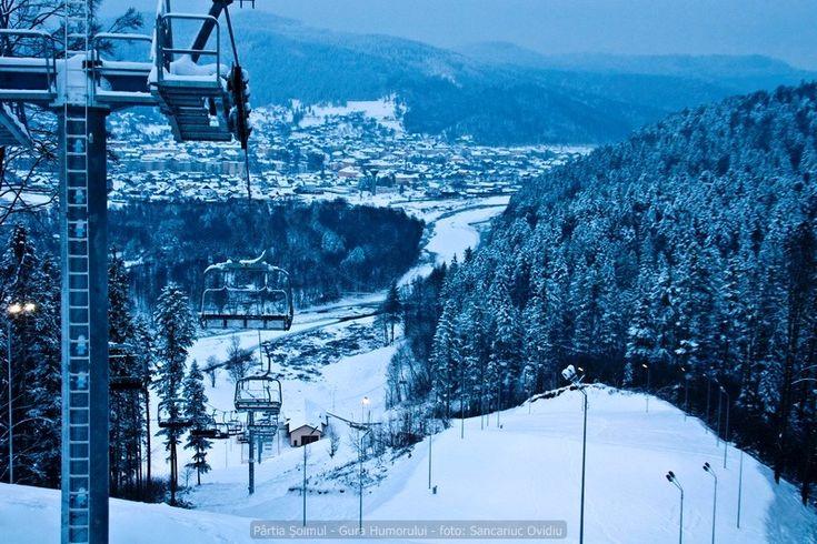 Partia de ski Soimul 1 este o partie moderna, prevazuta cu tunuri de zapada arti ...