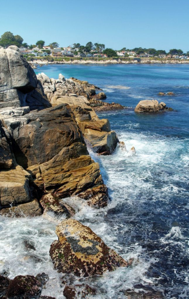 Lover's Point, Pacific Grove, by Igor Bespamyatnov