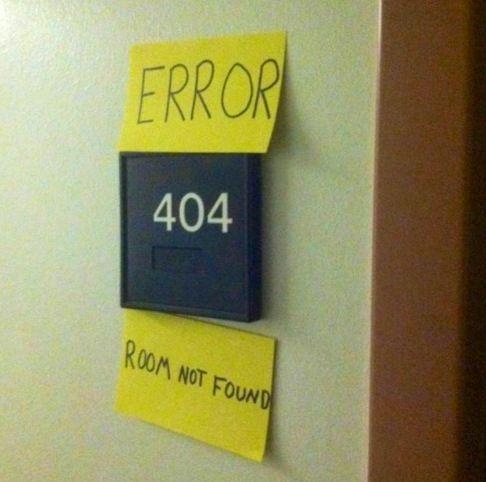 lol door sign  error  computer humor