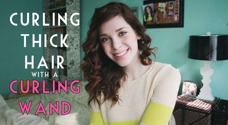 Best 25 Curling Thick Hair Ideas On Pinterest Thick